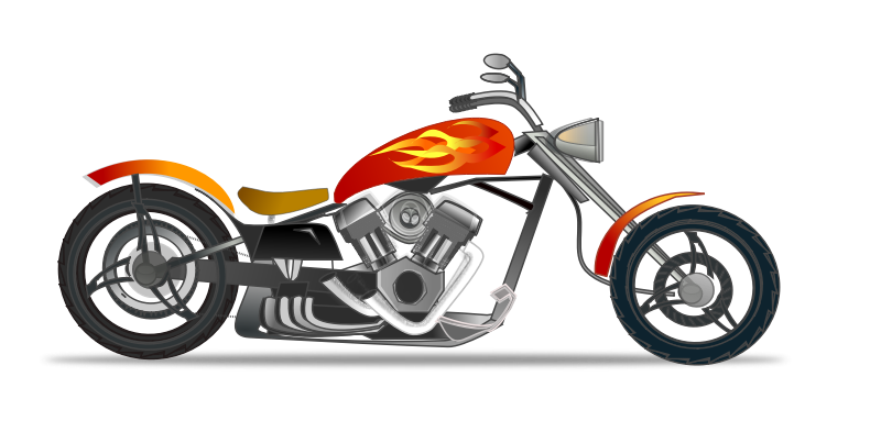 Free to Use & Public Domain Motorcycle Clip Art.