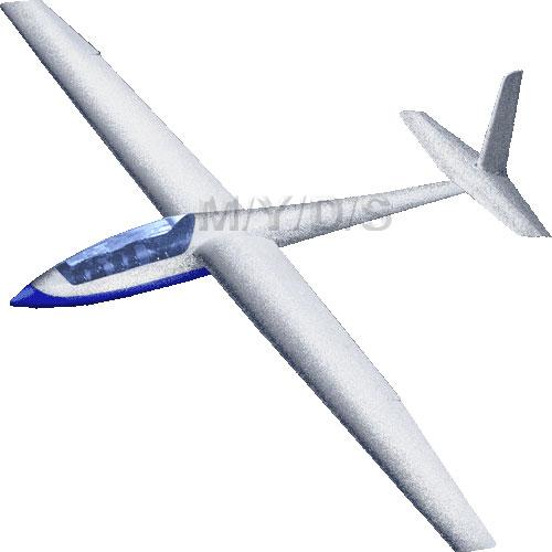 Glider, Sailplane clipart / Free clip art.