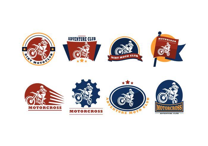 Free Motor Cross Logo Vector.