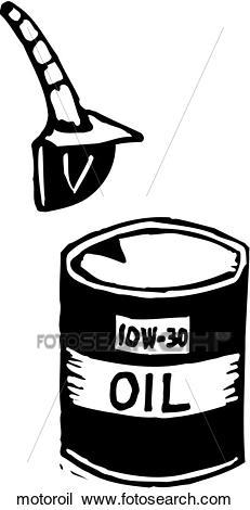 Motor Oil Clipart.