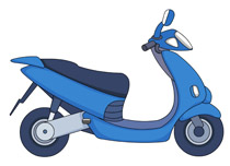 Free Motorcycle Clipart.