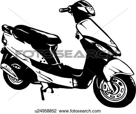 Scooter Clip Art EPS Images. 7,076 scooter clipart vector.