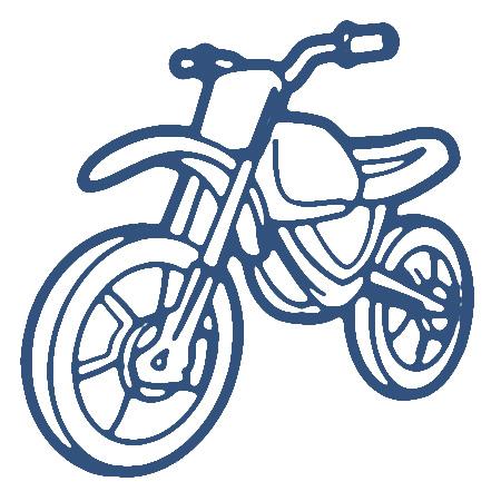 Clipart motorbike.