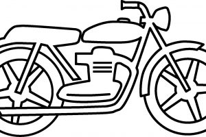 Motorbike clipart black and white 6 » Clipart Station.