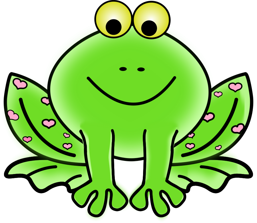 Showing post & media for Cartoon girl frog clip art.