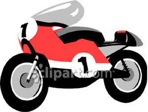 and Black Racing Motorcycle.