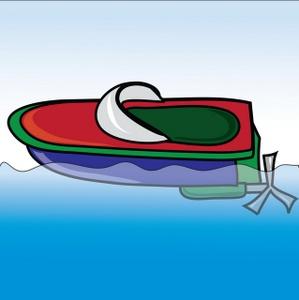 Free Boat Clip Art Image.