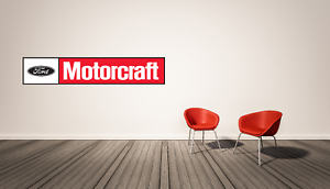 Details about Ford Motorcraft Logo Wall Decal Vinyl Racing Decor Room.