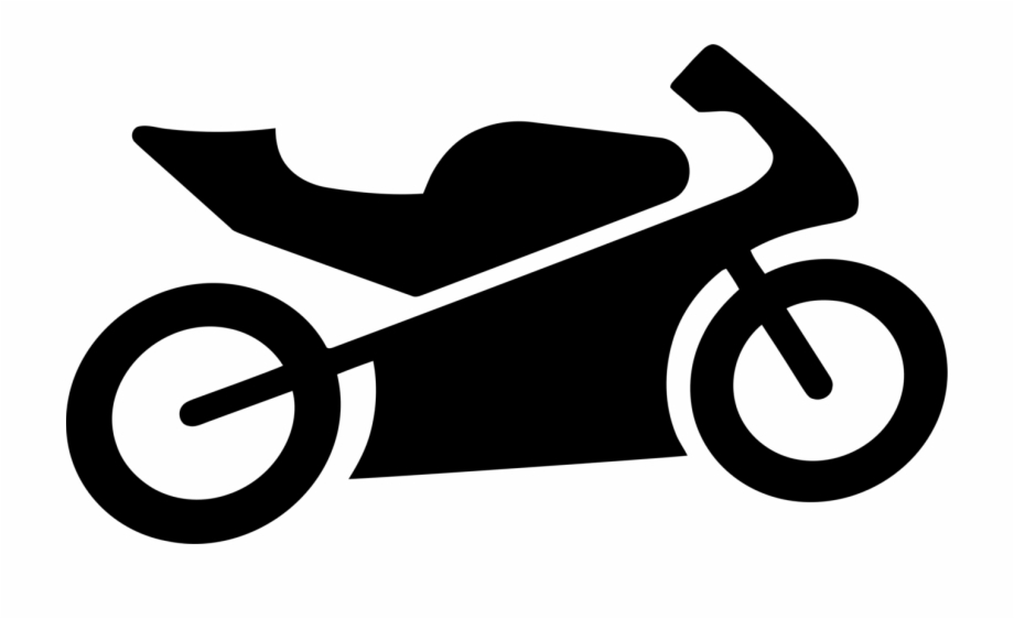 Motorcycle Bicycle Computer Icons Pillion Chopper.