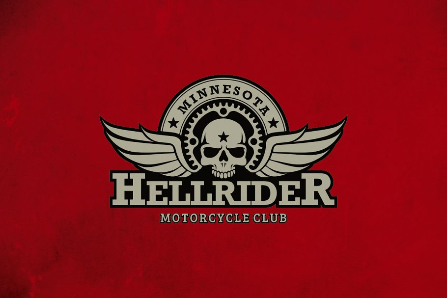 Motorcycle Club Logo.