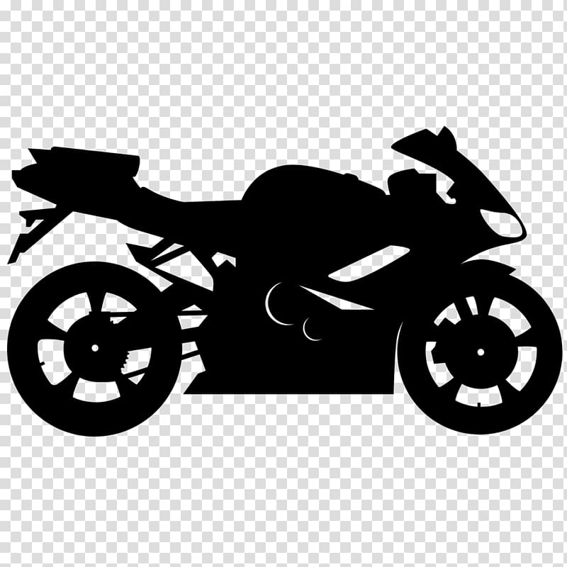 Silhouette of sports bike, Car Motorcycle Computer Icons.