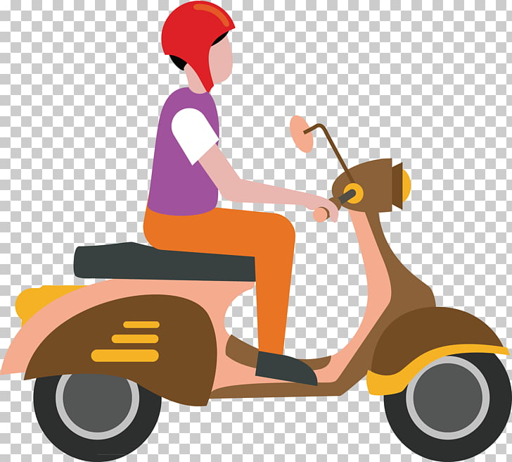 Motorcycle Icon, Motorcycle decorative material PNG clipart.