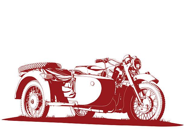 Sidecar Clip Art, Vector Images & Illustrations.