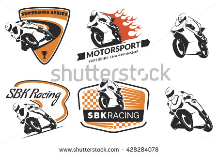 Motorcycle Racing Stock Photos, Royalty.