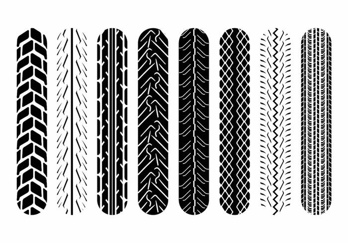 Motorcycle Tire Marks.