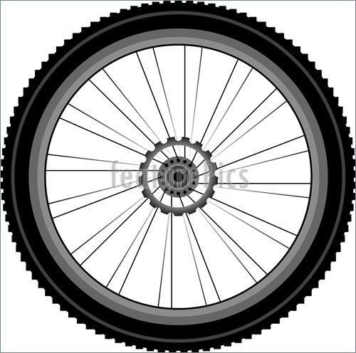 Motorcycle Tire Clipart.