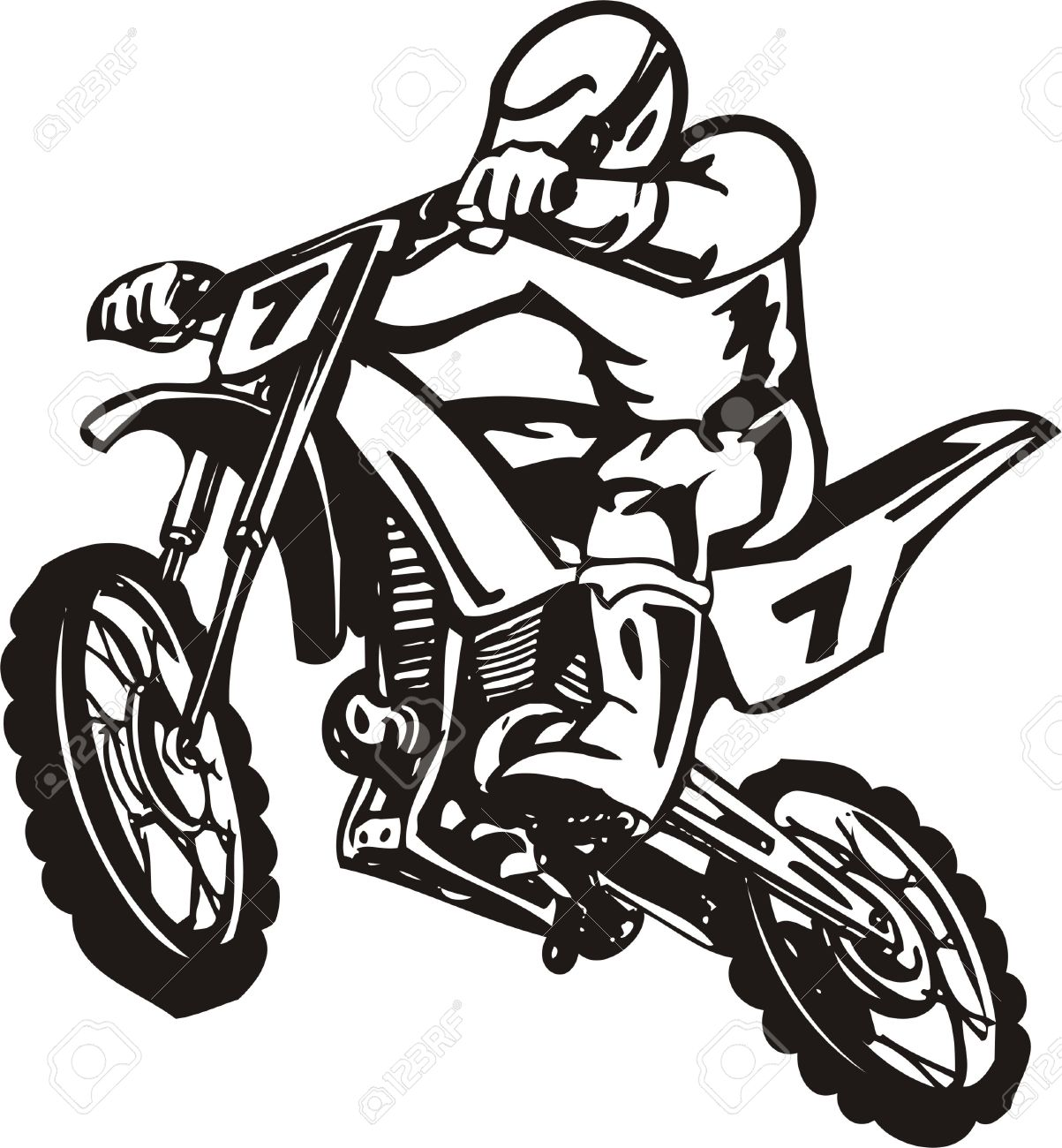 Motorcycle Vector Free Download Clip Art.