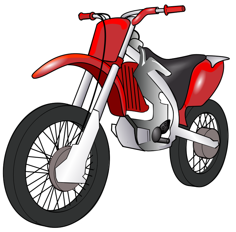 Motorcycle Clip Art Free Printable.