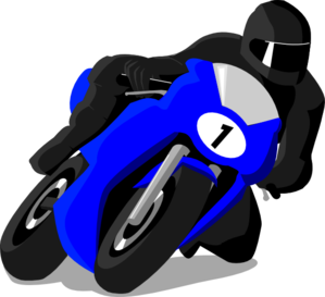 Motorcyclist Clip Art at Clker.com.