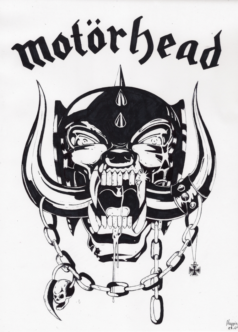Motorhead snaggletooth Logos.