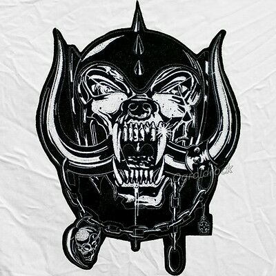 SNAGGLETOOTH WARPIG MOTORHEAD Logo Embroidered Big Patch for.
