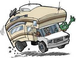Cartoon Rv Motorhome Clipart.