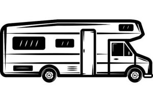 Rv clipart black and white 1 » Clipart Station.