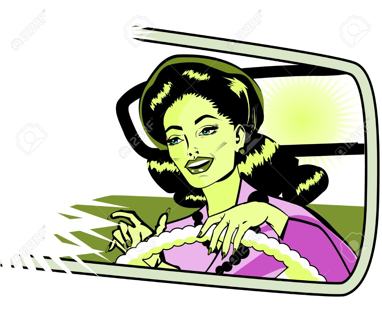 Female Motorist.