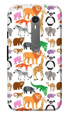 Buy Motorola Animals Clipart Printed Mobile Back Case Cover For.