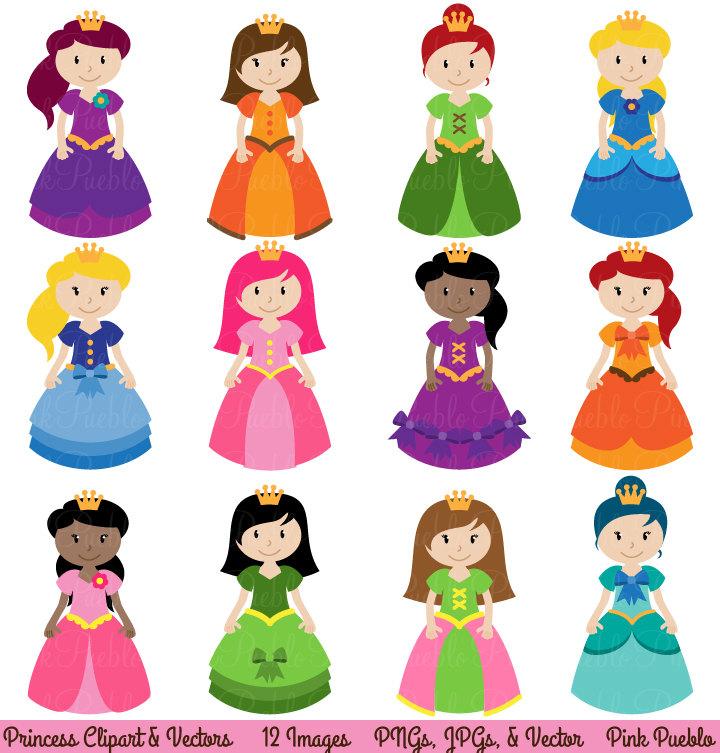 Princess images clip art.
