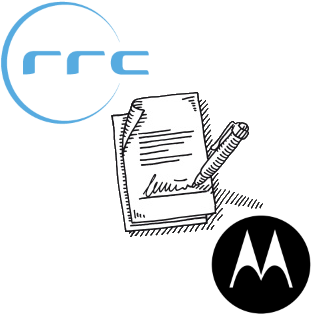 A distributor agreement between RRC and Motorola Solutions.