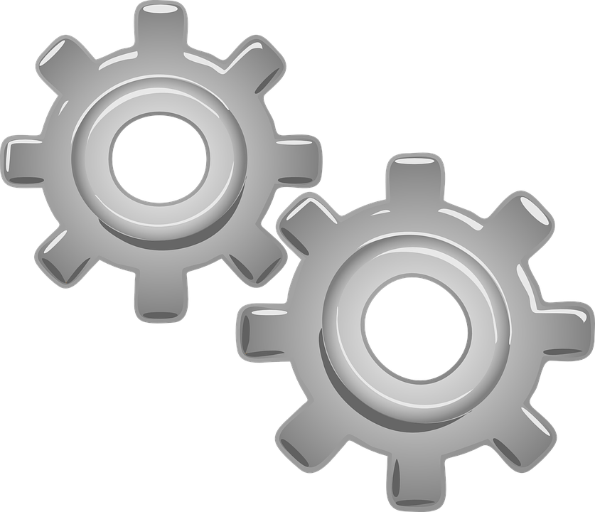 Free vector graphic: Gears, Motor, Part, Mechanical.
