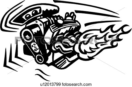 Car Motor Clipart.