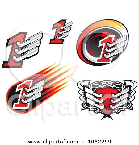 Royalty Free Stock Illustrations of Auto Races by Vector Tradition.