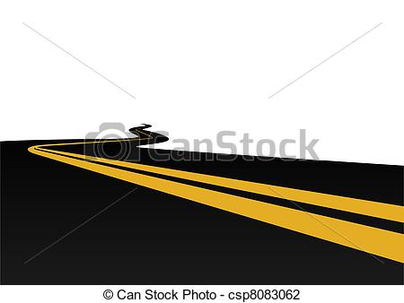 Vector Illustration of Motorway.
