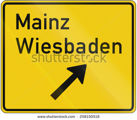 German Exit For Sign Stock Photos, Royalty.