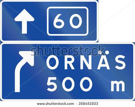 Exit From Motorway Shutterstock 库存照片、免版税图片和矢量图.