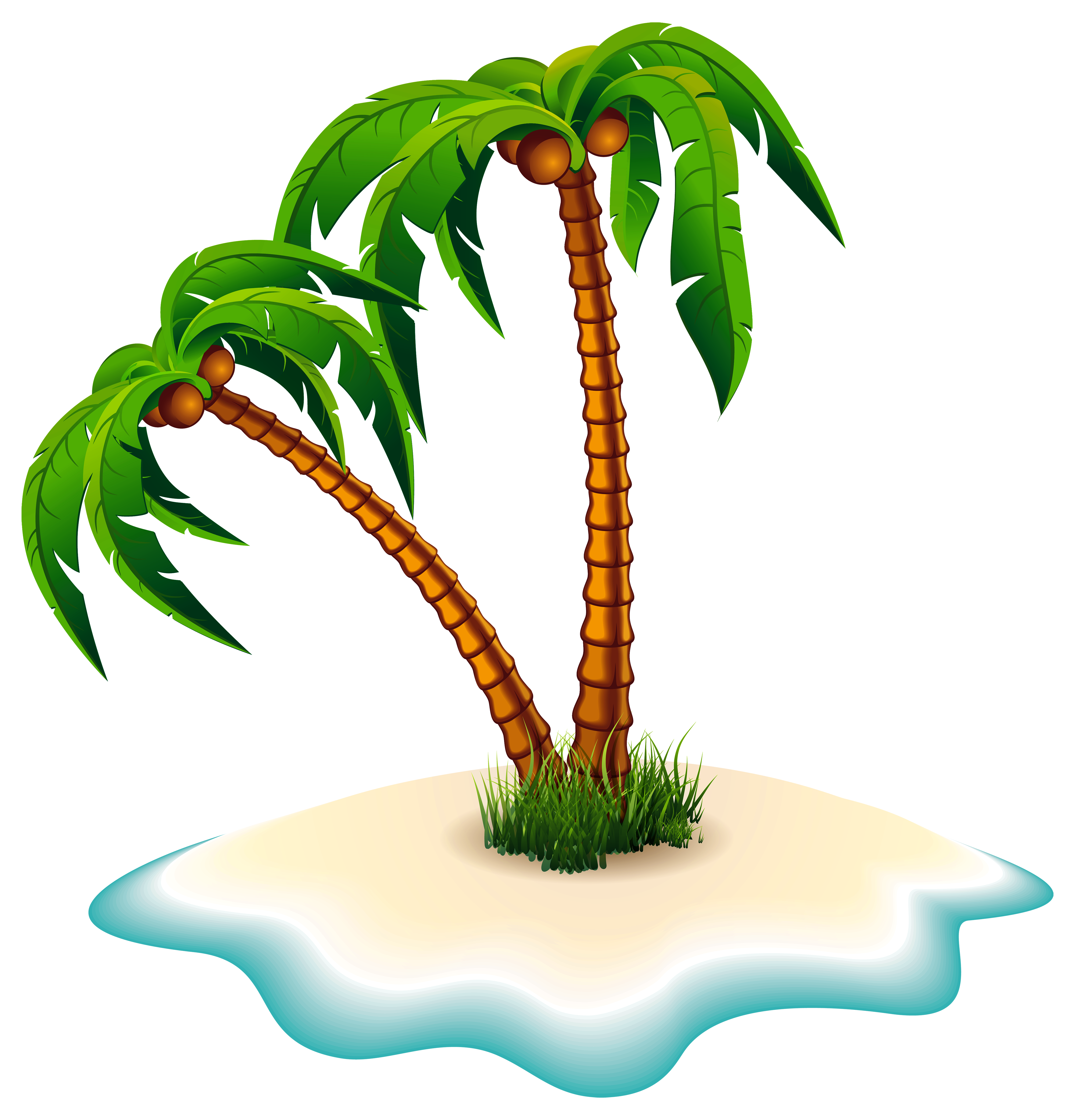 Island clipart free Transparent pictures on F.