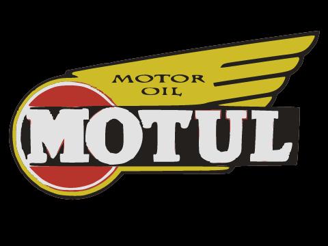 Vintage logo Motul Oil.
