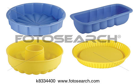 Stock Photography of dessert moulds k8334400.