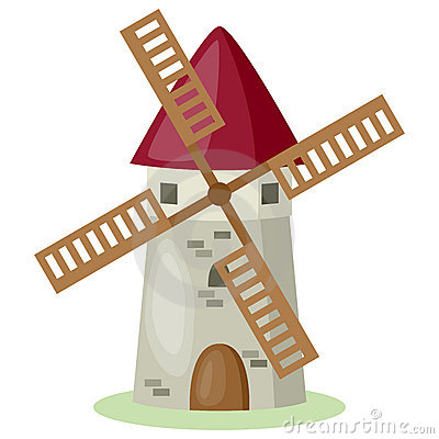 Moulin clipart #15