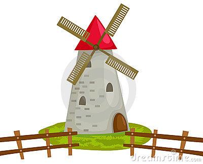 Moulin clipart #18