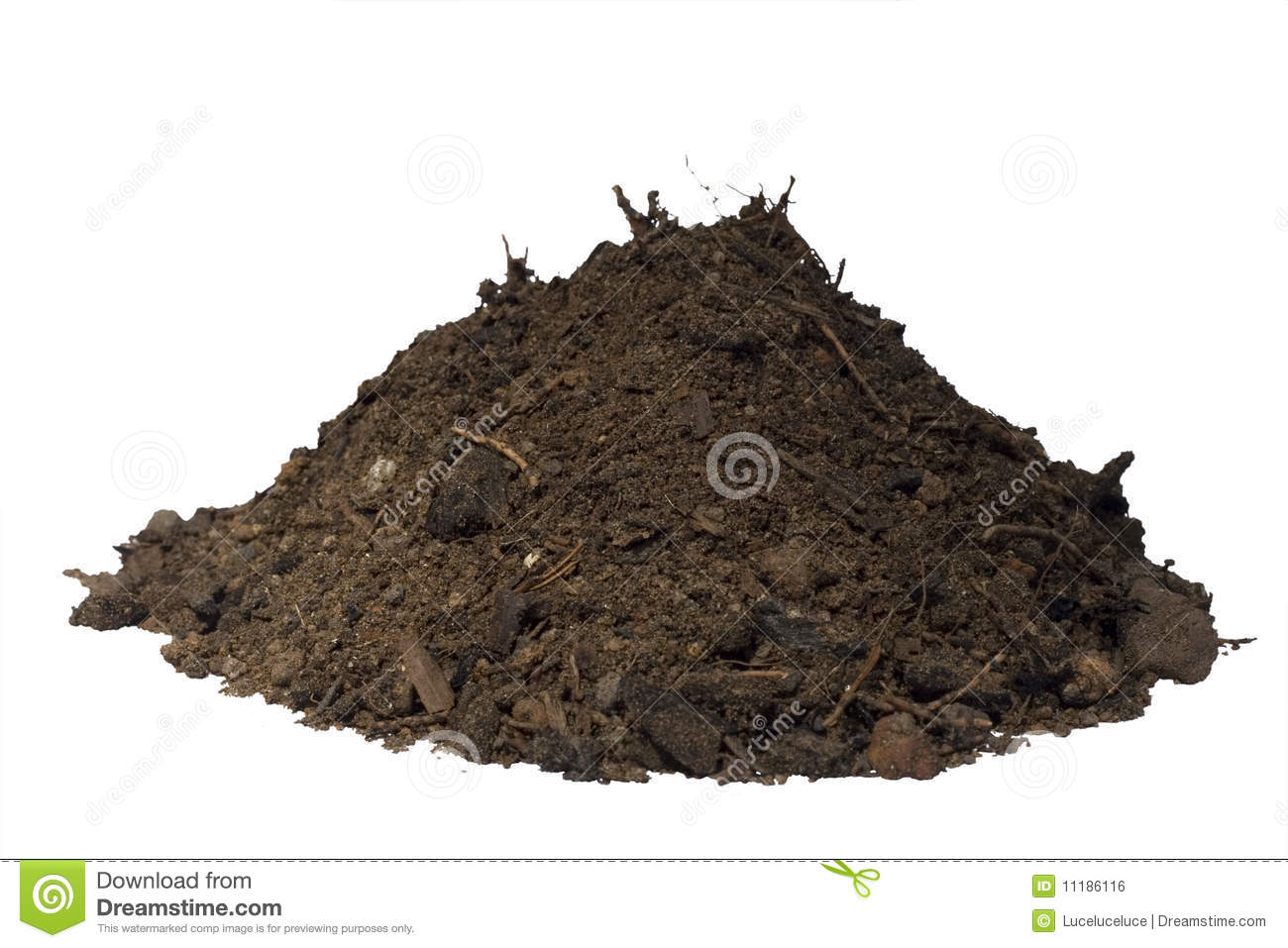 Mound of dirt clipart.