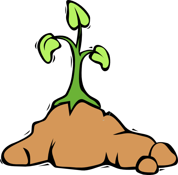 Dirt Mound Clipart.
