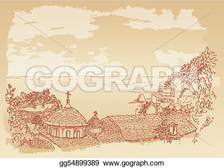 Mount athos clipart #15