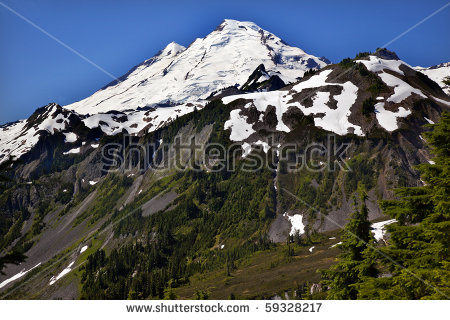 Mount Baker Stock Photos, Royalty.