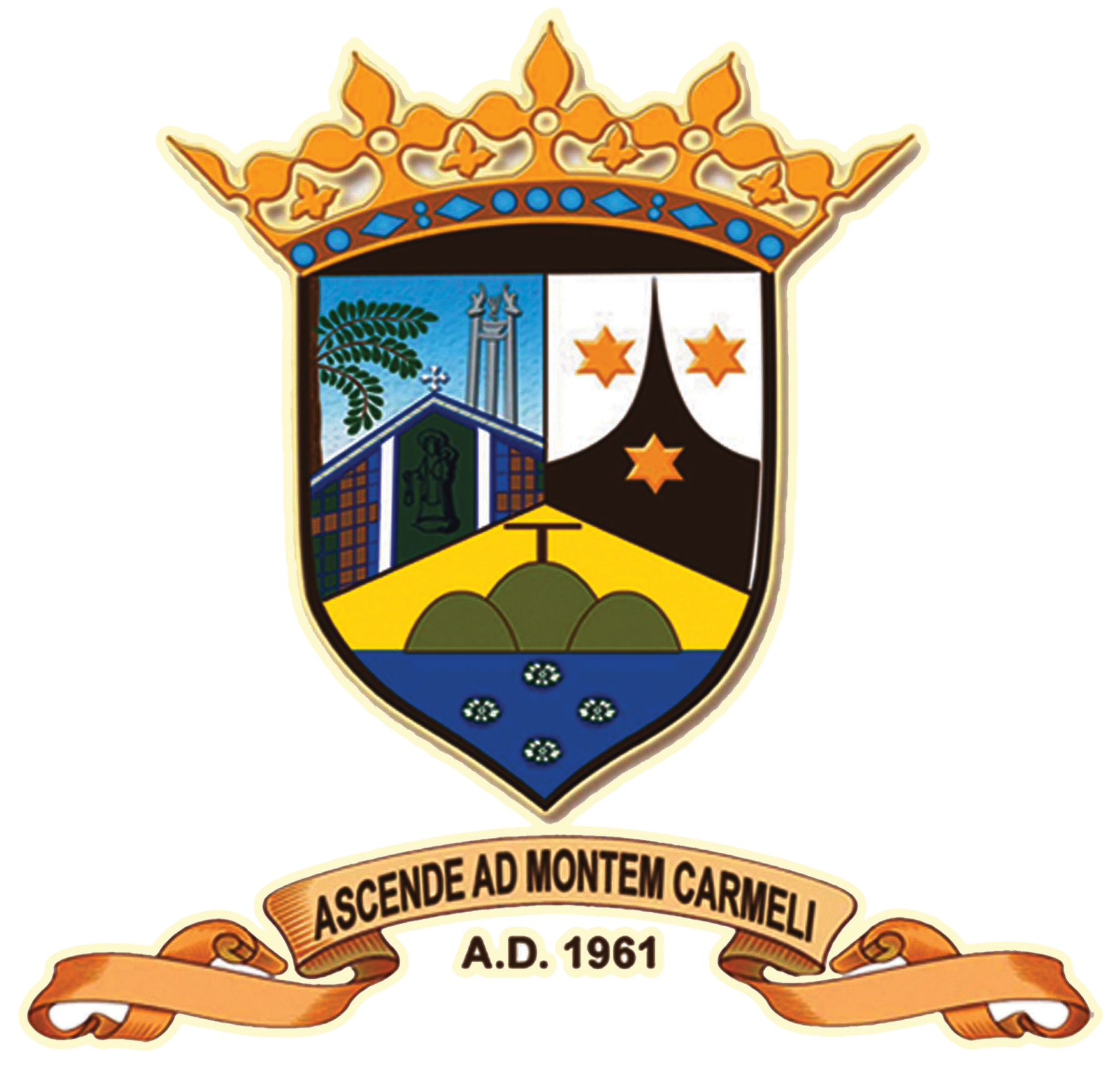 Our Lady of Mount Carmel Parish » Coat of Arms.