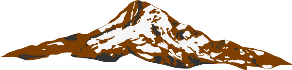 Mt. Hood Brown Clip Art at Clker.com.