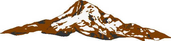 Mount clipart #20