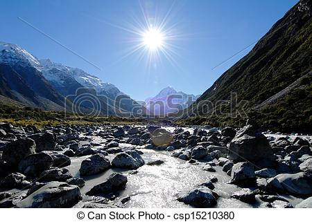 Mount cook clipart #17